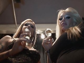 Ashley and July spitting