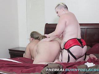 BBW Bunny Drills SSBBW SWTFREAK With Her Big Fat Strap On Di