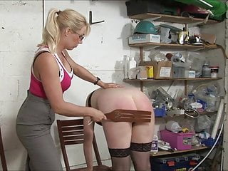 Spanked in the Basement