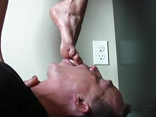 Sexy girl foot worship