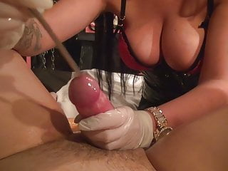 CBT, strapon, black mistress, anal games, toys