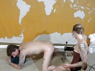 fuck machine first time