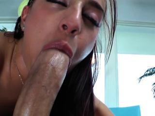 Bigass dominatrix pegs ass and rides cock