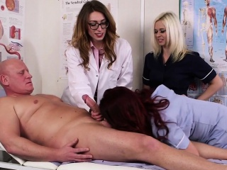 British cfnm nurses seducing patients cock