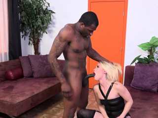 Mistress jizzed with bbc