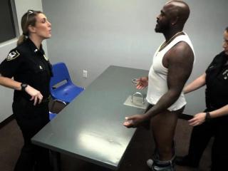 Big black dildo in ass Milf Cops