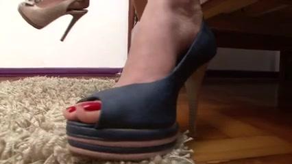 2 Brazilian Females Foot Domination