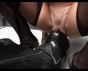 Sharon da Vale Mistress vs Rubberslave(s) IIIStrapon