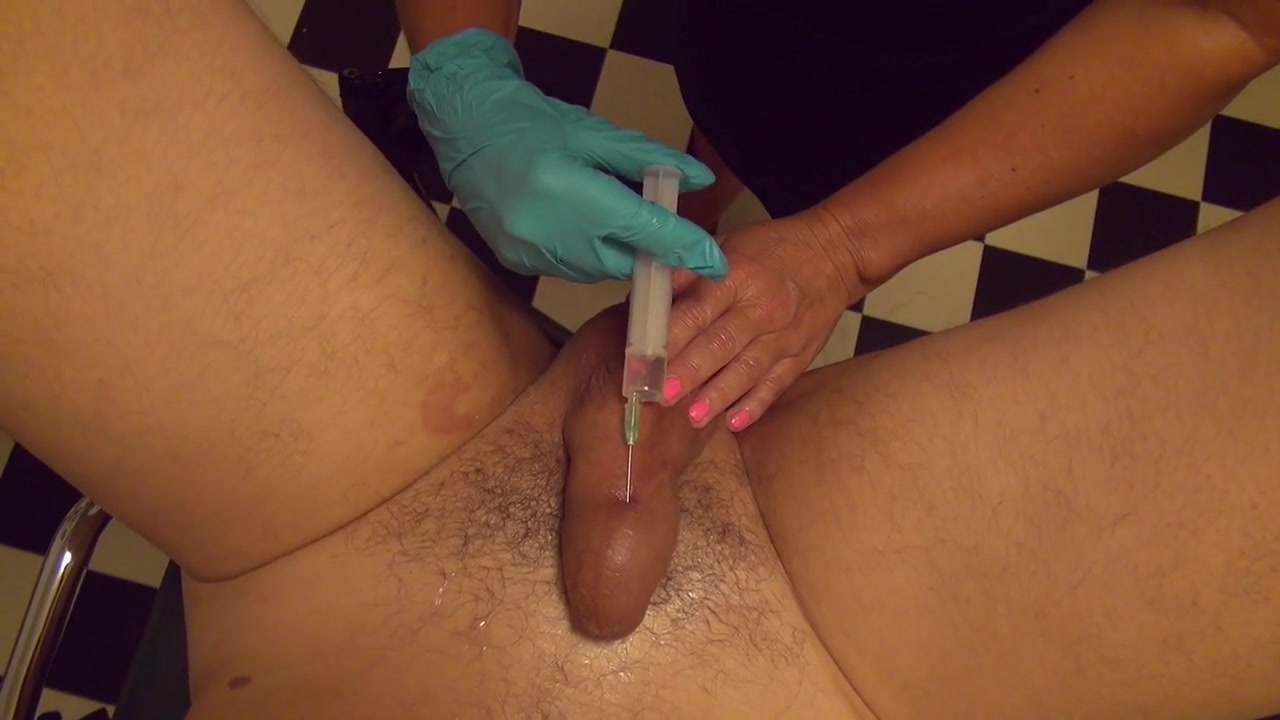 Injections  cock injection  double fisting  nurse  doctor