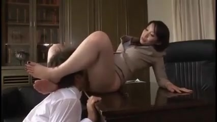 Japanese licking domination