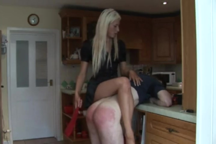 girls spanks man 2