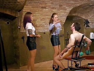 Two sadistic sisters - Trailer - Mistress Anette