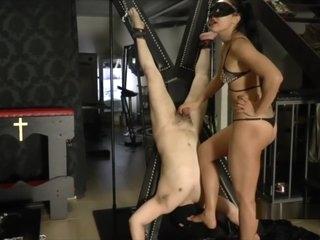Brunette In Latex Likes Fetish Play