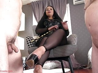 Mistress feet - cum on mistress feet competition