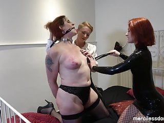 Sleepover with Surprise - Pussy Whipping and Spanking