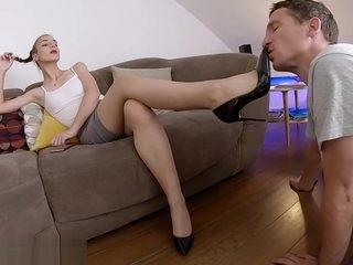 Exotic porn scene Brunette exclusive pretty one