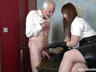 Curious Slave - Goddess Vivienne l'Amour and Rough CBT
