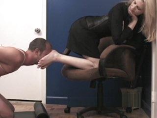 Office PA Panty Sniffer
