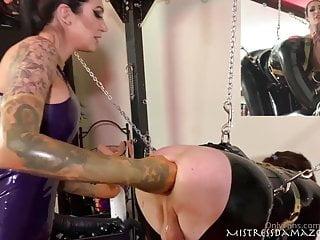 Ass development from mistress close up