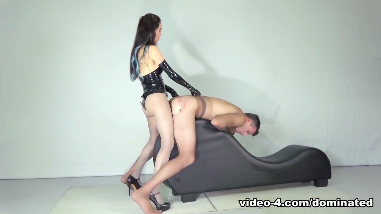 Nylon Male Bitch - DominatedMen