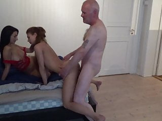 3 whores & pervert grandpa Ulf Larsen!