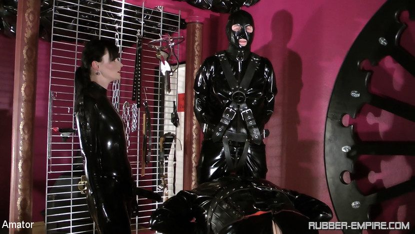 Cheyenne de Muriel & Slave & Sklave in Cheyenne de Muriel - Rubber Until the Doctor Comes (Part 2) - KINK