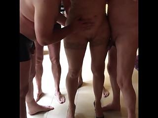 My hotwife gangbanged, sissy-cuckold films