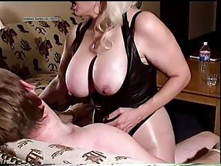 Goddess Sondra  fucks collage boy sex slave smoking in