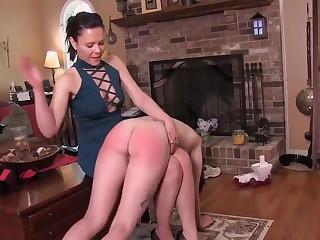 Painful otk spanking