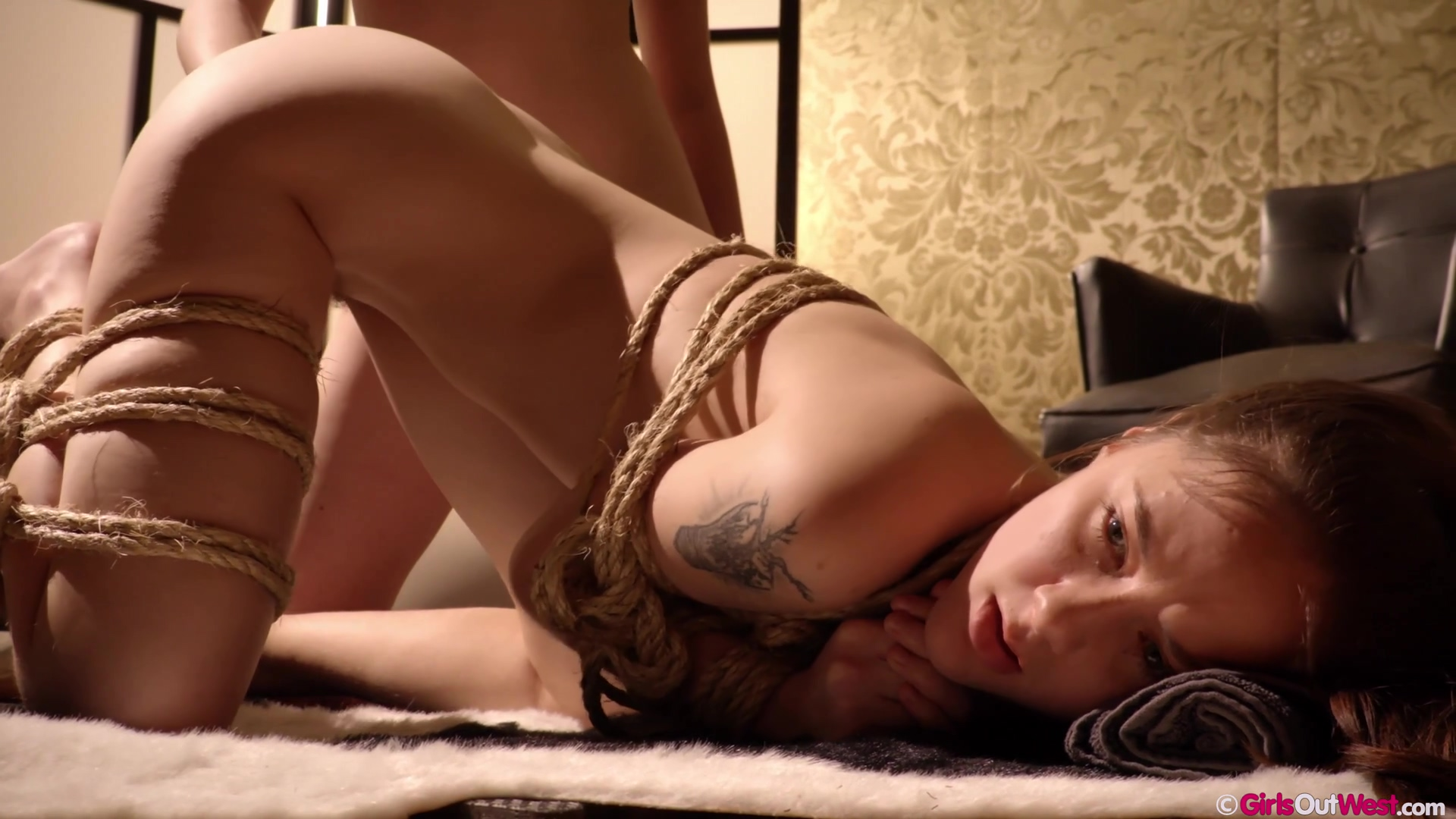 lesbian domination and fisting art, 4K - Eva May and Luci Q