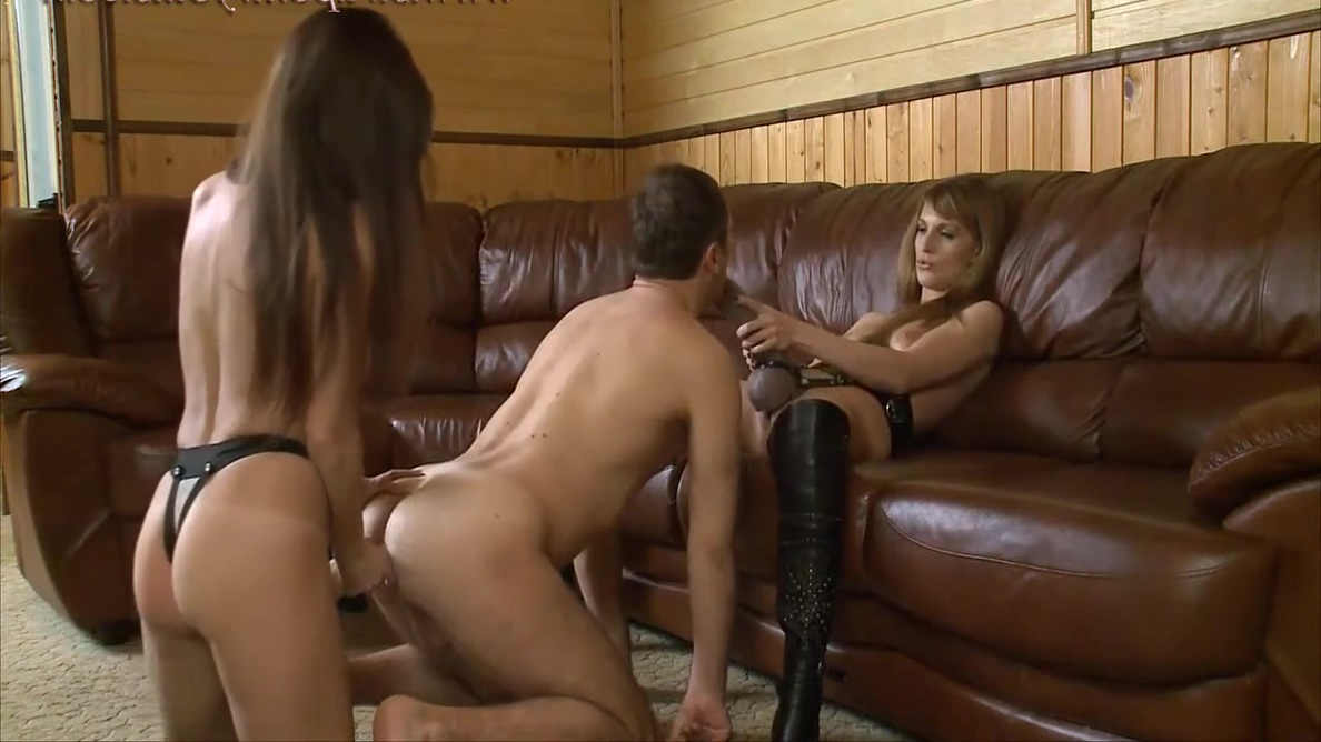 Olga Barz in 2 Russian Ladies With Big Strapons