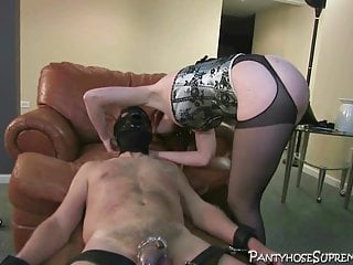 You have to swallow that, slave, my squirt