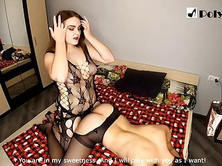 Nice girl wants to be a strapon mistress and fucks a guy
