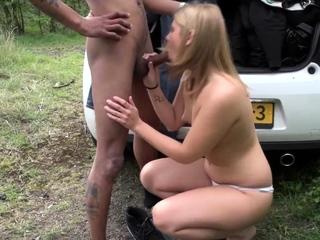 Real prozzie gets cum