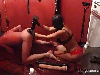 Sensual intense anal fisting and anal play Adelina Fistdude