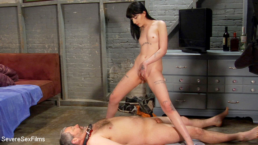 Charlotte Sartre & Jimmy Broadway in Stepdad Gets Fucked And Pissed On (Part 2 Of 2) - KINK