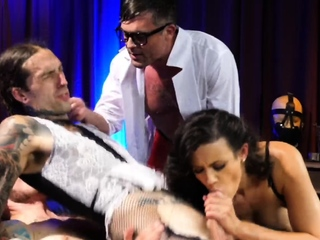 Bisexual cinema twisted doctor group sex