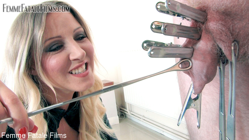 Mistress Vixen & Flooze in Clamping To Extremes - KINK