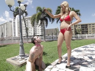 Mature Milf Alexis Fawx With Big Boobs Dominates Her New Son-in