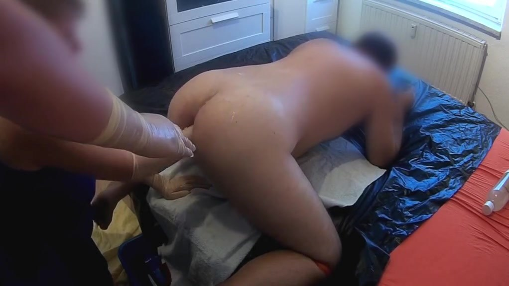 Dominant Couple Fisting My Ass 4