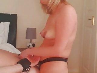 Femdom takes guy's virginity
