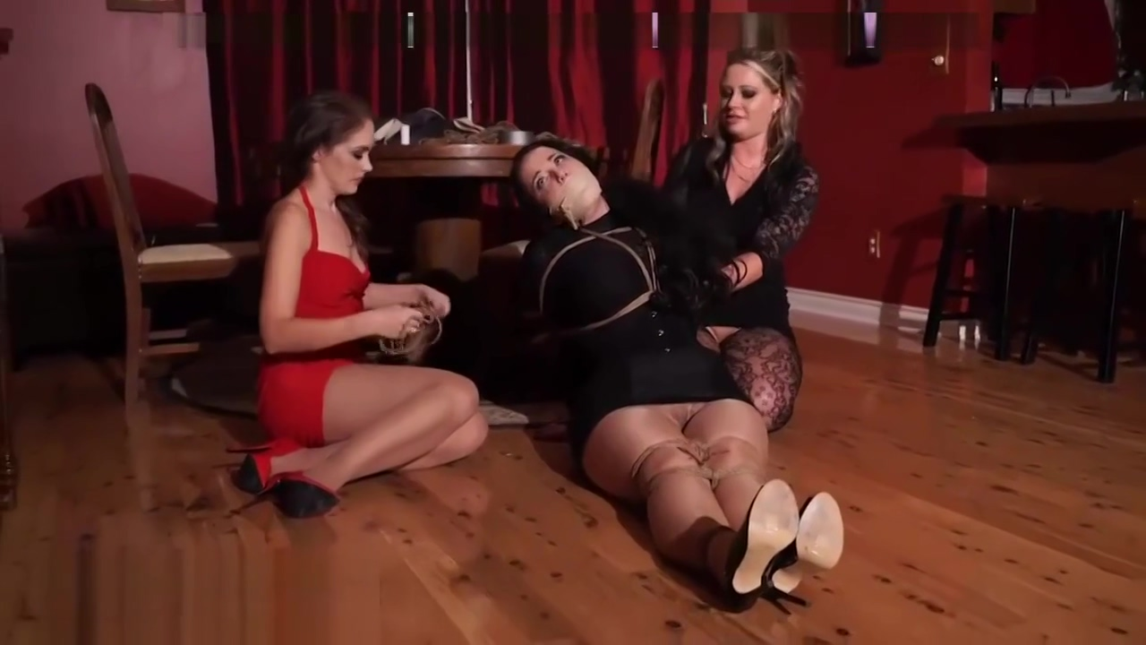 Hardcore Bondage Action With Three Filthy Milfs