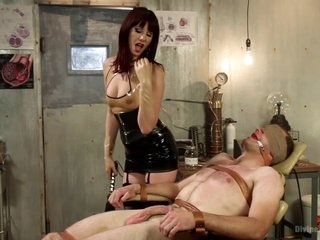 And Strapon Anal Sex With John Smith And Maitresse Madeline