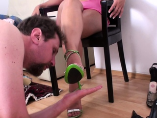 gypsy princess dominate shoe slave joschi