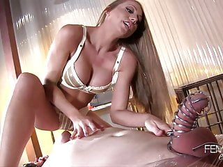 Femdom Empire Shawna Lenee Spiked Chastity Tease