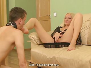 Beautiful Mistress with Cuckold