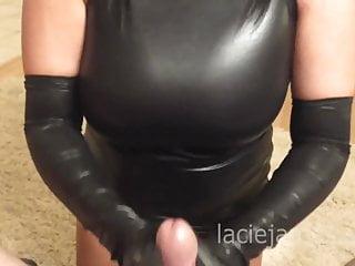 Lacie James Glove Fetish Hand Job