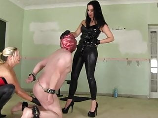 facefucked and balls crushed