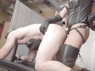 Mistress Tangent strapon scene