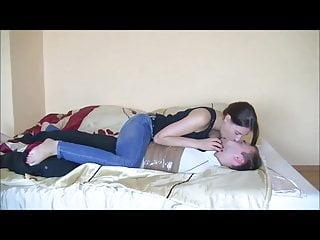 Femdom Kissing